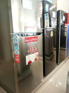 Jual kulkas 2 pintu bisa cicilan dp ringan