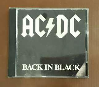 CD Ac/Dc - Back In Black ( Original 1980 Early USA Press )