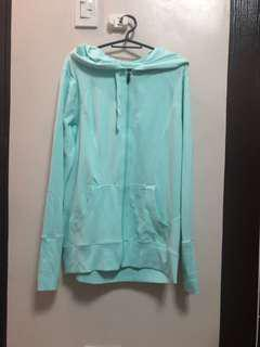 Xersion Mint Green Jacket with hood