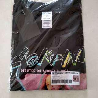 BLACKPINK OFFICIAL TSHIRT TYPE2 BLACK L