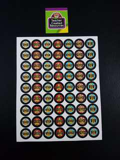 [INSTOCK] BN Carnival Small Reward/Merit Stickers (Teacher Created Resources)