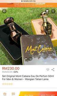 Authentic Mont Cabanna Perfume