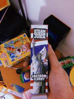 Steam Queen Juice - Freedom Flurry Vape E-liquid