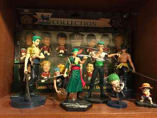 海賊王卓洛 zoro one piece styling figure 公仔