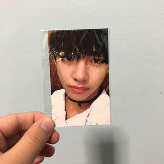 BTS ITMFL Pt. 2 V photocard