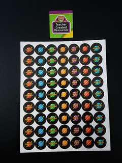 [INSTOCK] BN Stellar Space Small Reward/Merit Stickers (Teacher Created Resoures)