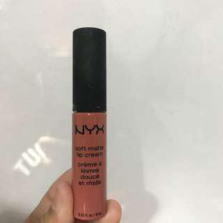 NYX Soft Matte Lip Cream shade Cannes