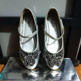 Flatshoes silver
