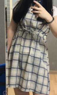 韓國購入✈️田園女孩風吊帶裙