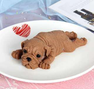 3D立體沙皮狗蛋糕冰淇淋模具