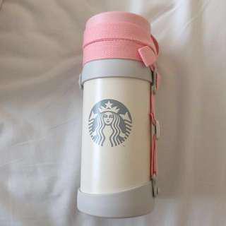 Starbucks 保暖壺 粉紅 台灣購入