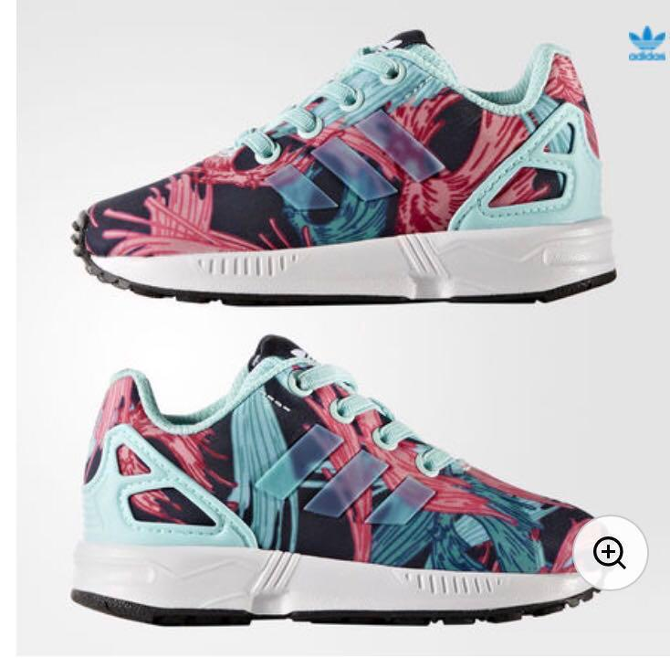 pretty nice 1eace ee452 1 day sale! Brand New Adidas ZX Flux Kids size 7k, Babies ...