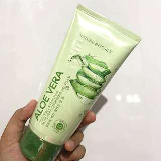 Nature Republic Aloe Vera Facial Wash