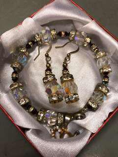 Bracelet & Earring set(repriced)