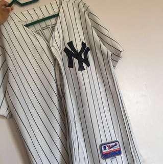 NY Baseball jersey