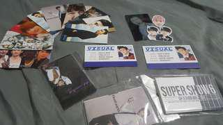 Kpop Cards and Stickers