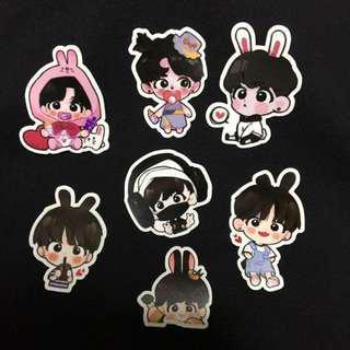 BTS JungKook Fanart Stickers