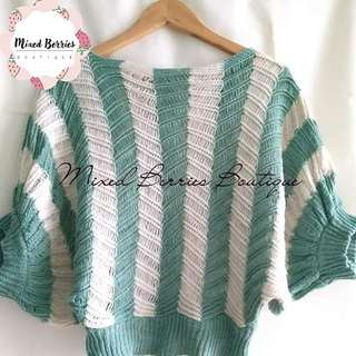 Knitted Batwing Top