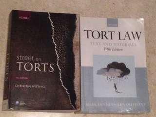 Tort Law (UK) Legal Texbook London
