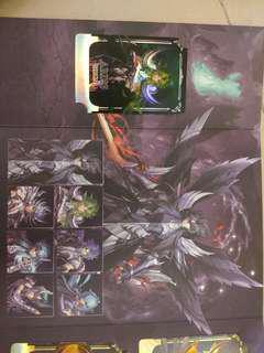 聖鬥士星矢30年展卡