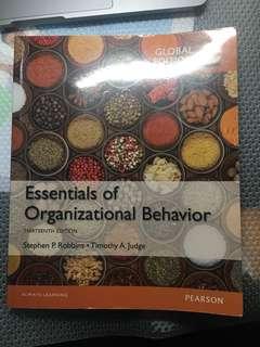 Essentials of Organizational Behavior