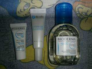 New Bioderma Hydrabio & Bicelle Hydra B5 Cleanser (Three Items total $10)