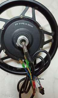 """500w 12"""" gear motor"""