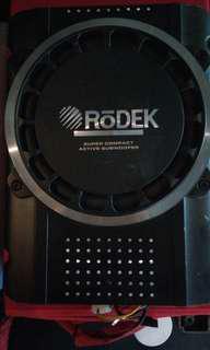 "10 "" Rodek active sub woofer"