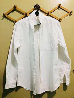 Uniqlo White Long Sleeves