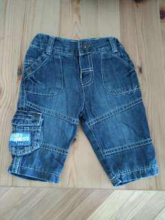 新淨Marks & Spencer baby Jeans bb牛仔褲