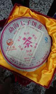 普洱茶 猛海七子餅茶