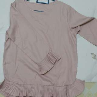 Blouse dusty pink new