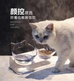 高級寵物碗 單碗 貓碗 狗碗 傾斜15度設計