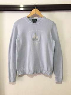 Pastel Blue Ralph Lauren Knitted Sweater