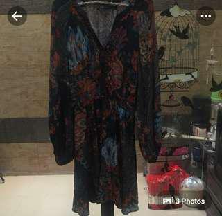 Dress boho by ZARA