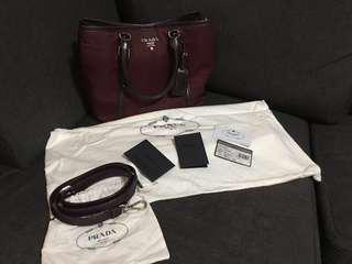 Prada Tessuto Soft CA Bag Authentic