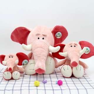 🚚 撲克娃娃 粉紅大象