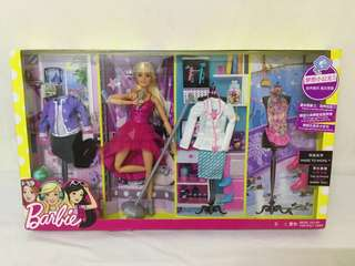 🆕Barbie (MTM) Made To Move Career Set Fashion Barbie Doll