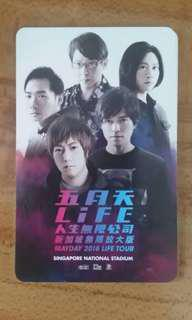 Mayday 五月天 Life 人生无线公司 limited edition card