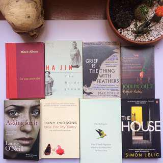 English Novels (Preloved)