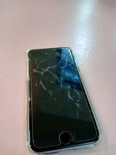 Screen Crack Iphone 6 64gb