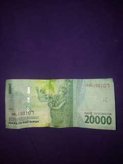 Uang antik seri 150107