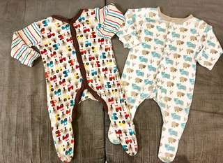Sleepsuit Mothercare 2 pcs