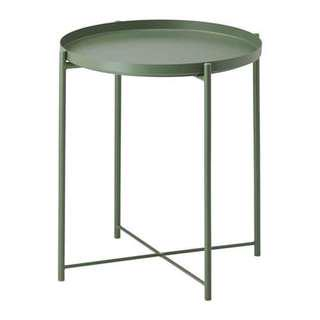Tray Table (dark green)