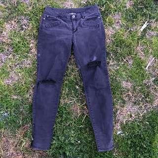 Witchery Ripped Denim Jeans