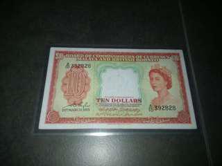 1953 Malaya $10