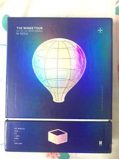 The Wings Tour in Seoul DVD WITH JK PC
