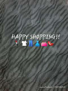 Happy Shopping!!