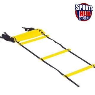 Speed Agility Ladder - 3.5m x 7 Rungs (Black/Yellow)