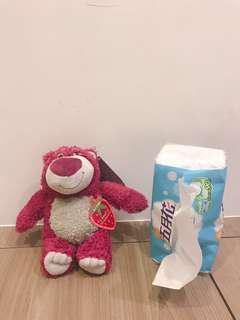 🚚 正版 熊抱哥 草莓味道 娃娃